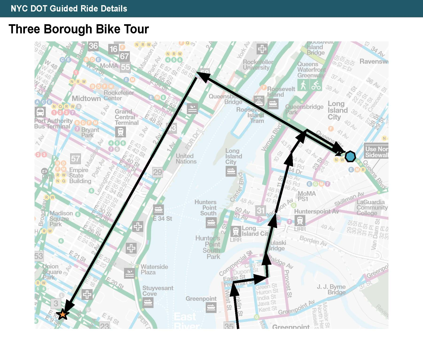Three Borough Bike Tour from Manhattan to Brooklyn to Queens Part 2