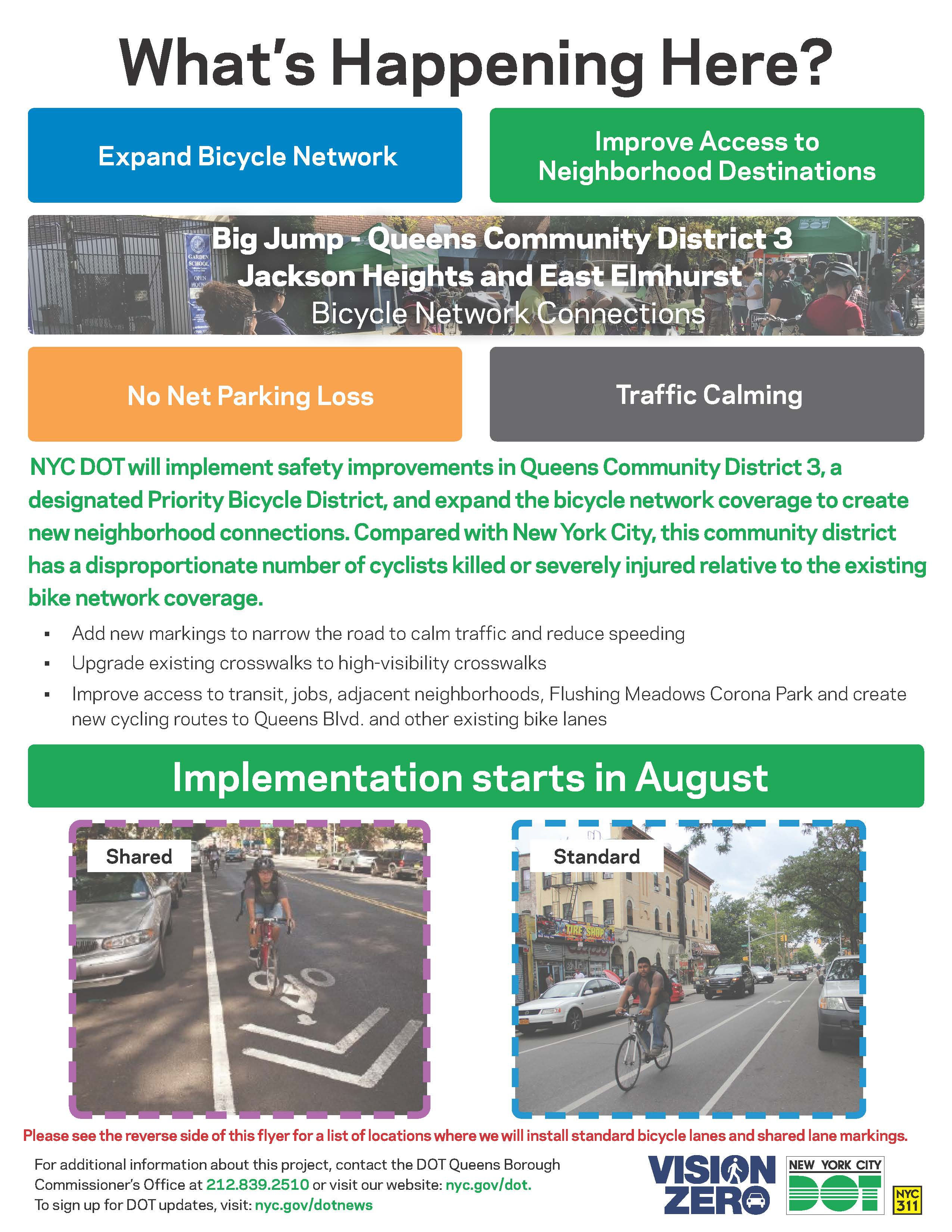 Bike Network Installation Starts in August 2019 | Projects