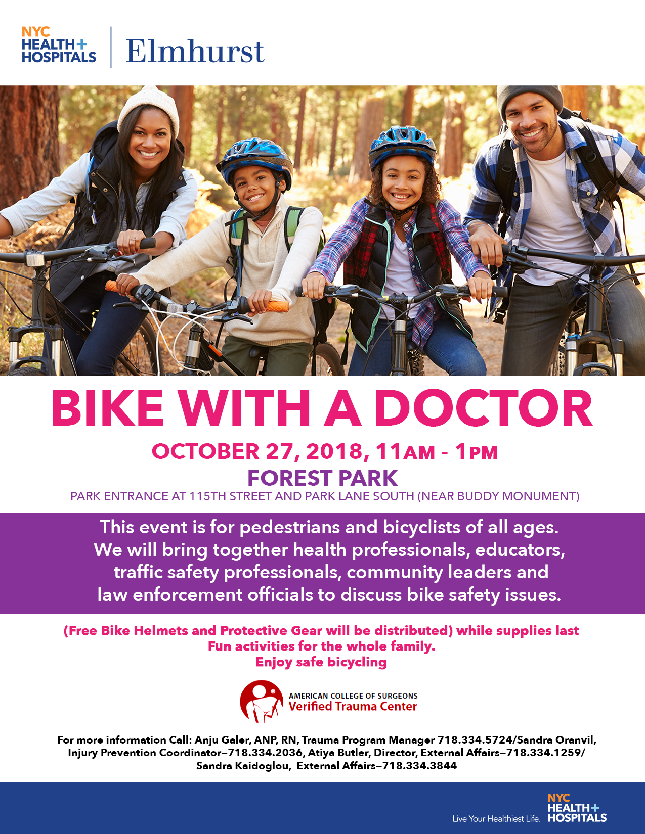 Bike with doctor event