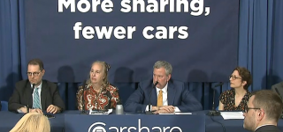 NYC DOT Carshare Press Conference