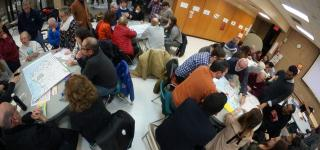 Community members and DOT Facilitators at the workshop