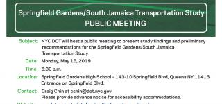 Springfield Gardens High School, May 13, 2019, 6:30PM